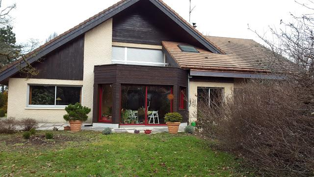 Extension maison individuelle en ossature bois