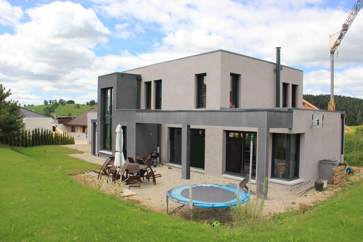 Construction de maisons individuelle pontarlier for Construction de maison individuelle